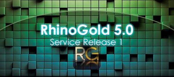 New RhinoGold 5.0 Service Release 1