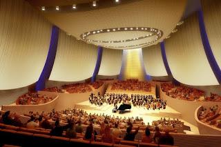拥有844个座位的 Bing 音乐厅