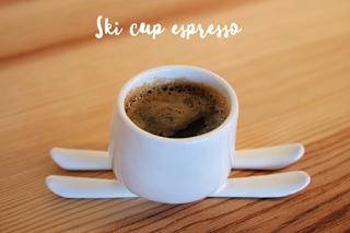 Ski cup espresso