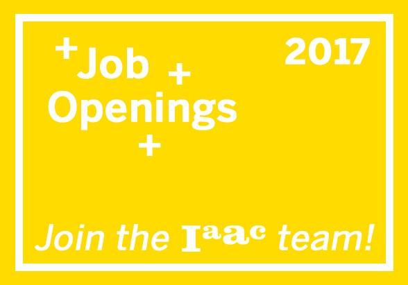 job opening IAAC