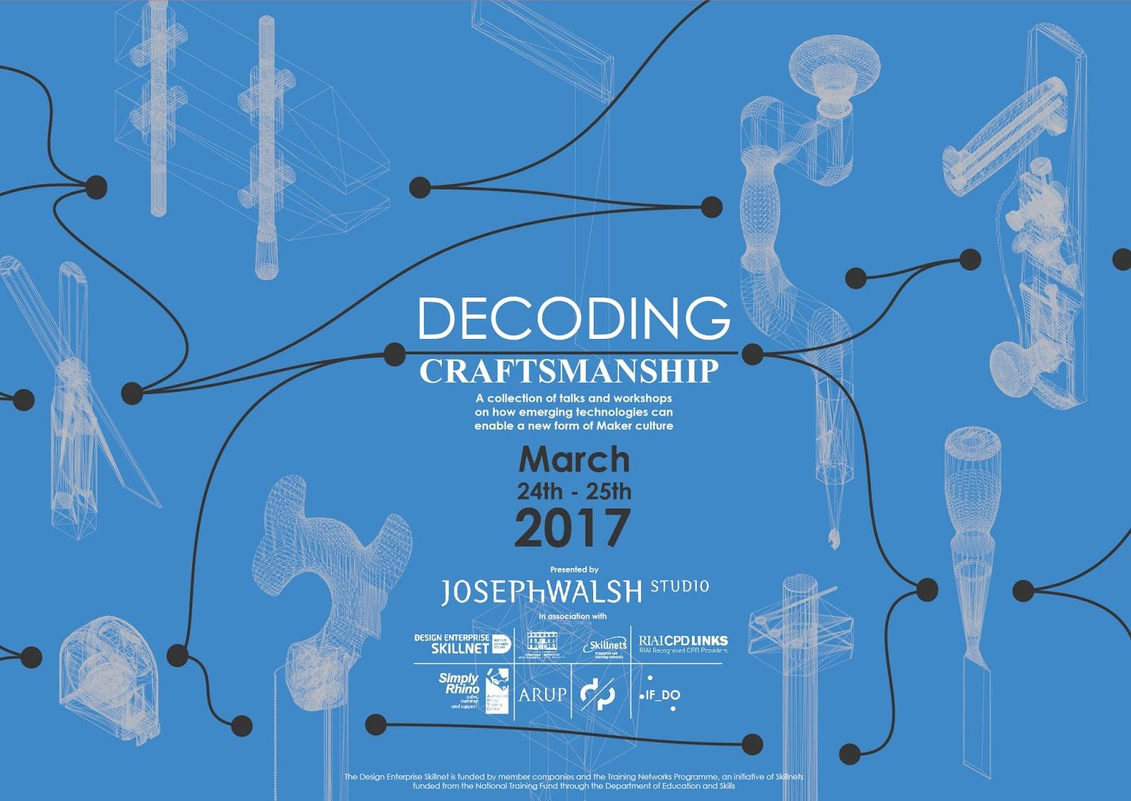 Decoding Craftsmanship landscape