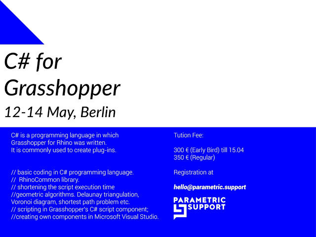 c-for-grasshopper-workshop-may-12-14